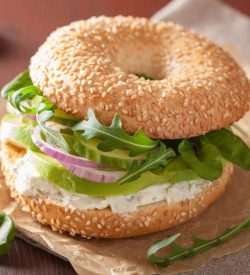 Busy Burro's Bountiful Bagel Breakfast Package