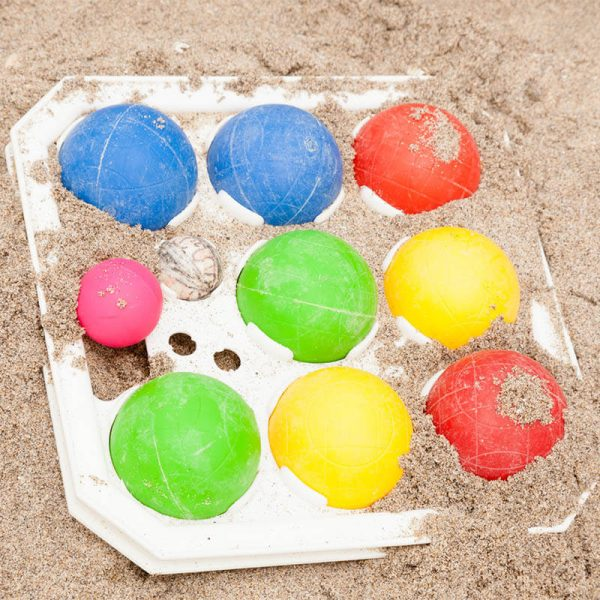 Busy Burro will set you up with Bocce Ball on the beach during your vacation.