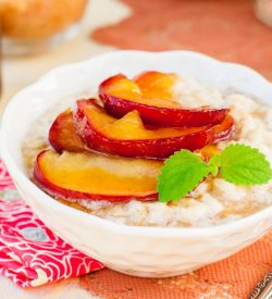 Apple Caramel Oatmeal from Busy Burro