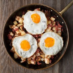 Red Flannel Hash Breakfast from Busy Burro