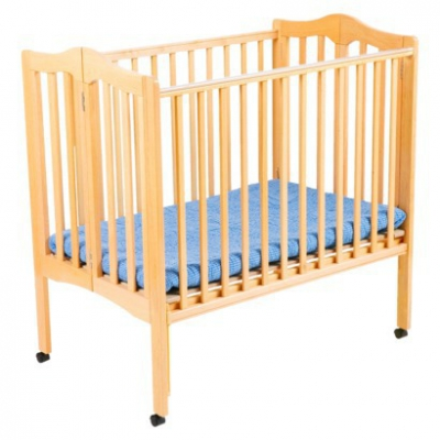 Genial Portable Wooden Crib
