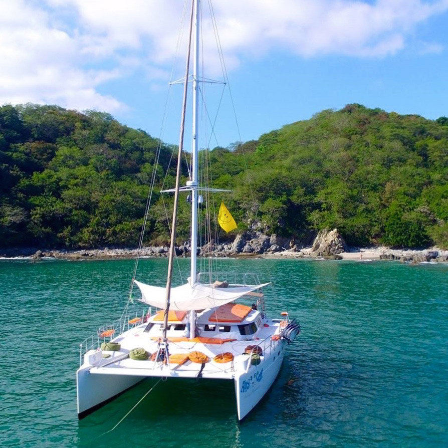 Cruise the Banderas Bay on your very own catamaran